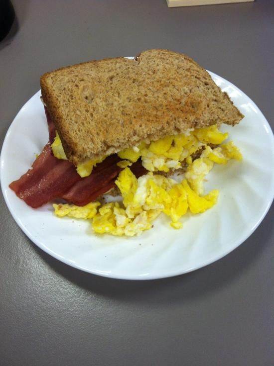 Breakfast on Thursday